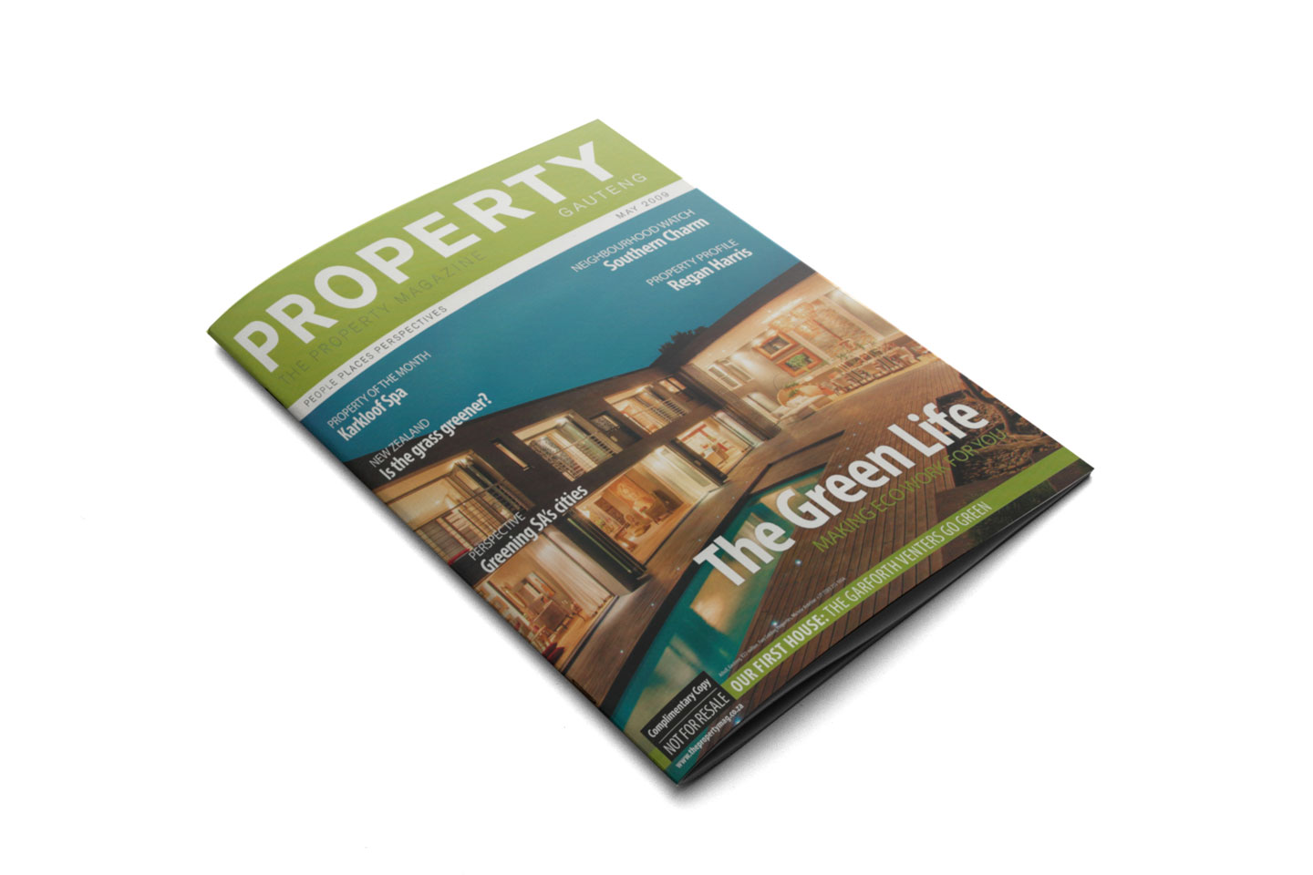 Nieuwoudt Architects Pproperty Gauteng May 2009 Cover